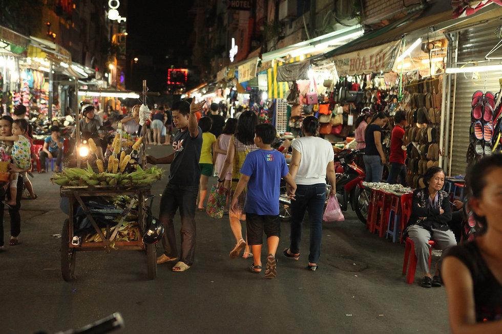 Near Bến Thành Market, Saigon
