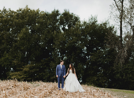 Indiana Outdoor Berry Farm Wedding
