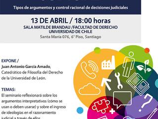 """Seminario """"Ideología y razonamiento judicial"""""""