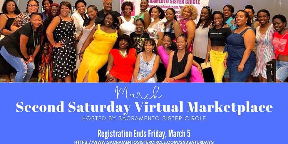 SSC Second Saturday Virtual Marketplace (March 2021)