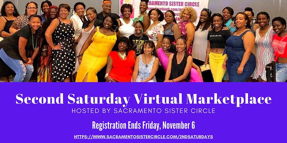 SSC Second Saturday Virtual Marketplace (November 2020)