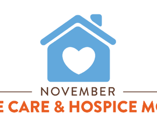 November is Home Care & Hospice Month
