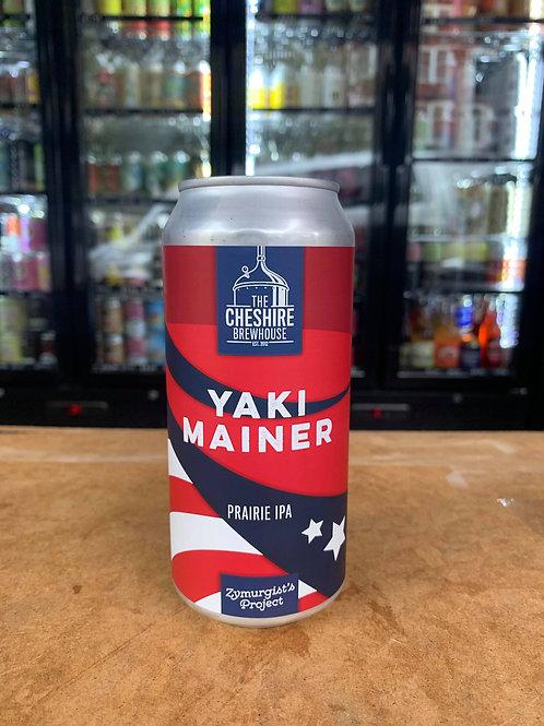 Cheshire Brewhouse: Yaki Mainer IPA 6.4% 440ml