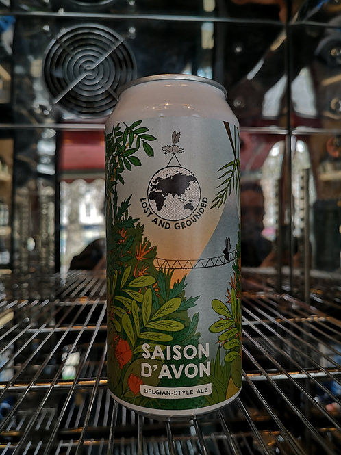 Lost & Grounded Saison D'Avon 440ml