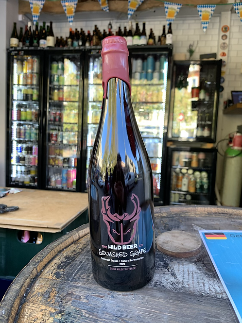 Wild Beer Squashed Grape 750ml