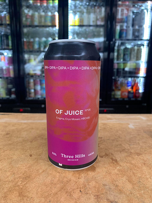 Three Hills: Of Juice DIPA 9% 440ml