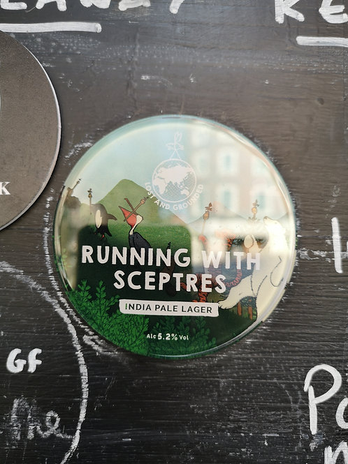 Lost & Grounded Running with Sceptres 1 litre Draught