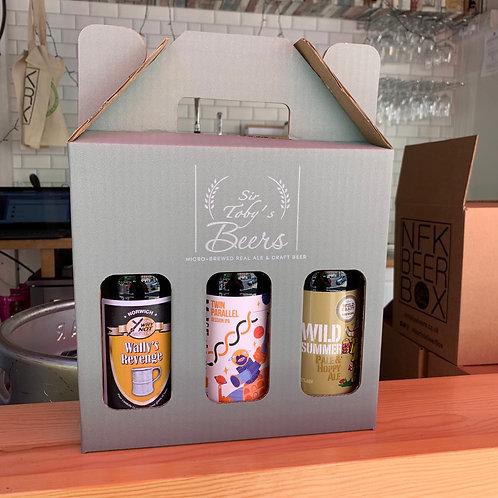 3 Norfolk Ales & Gift Box
