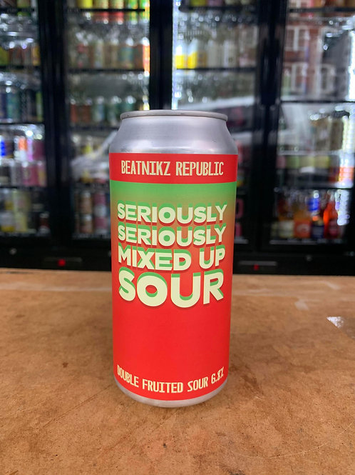 Beatnikz Republic: Seriously Seriously Mixed Up Sour 6.8% 440ml