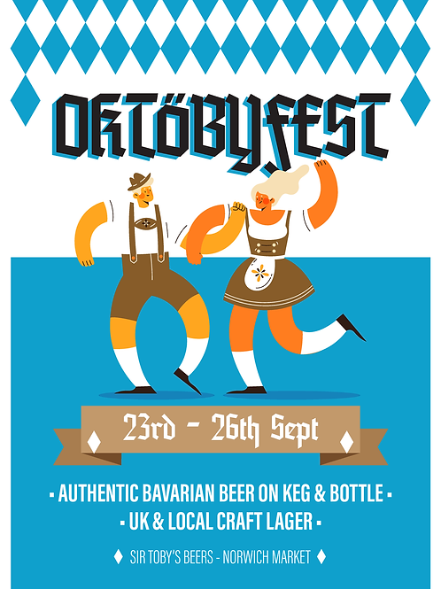 Oktöbyfest Table (Group of 4-6ppl) - Saturday 3rd October 2020