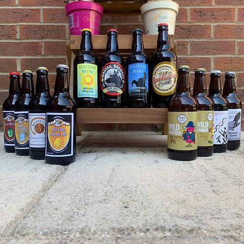 Sir Toby's Norfolk Real Ale Box - 12 Beers