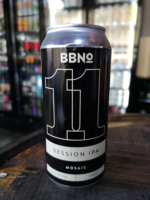 Brew By Numbers 11 Mosaic Session IPA 440ml