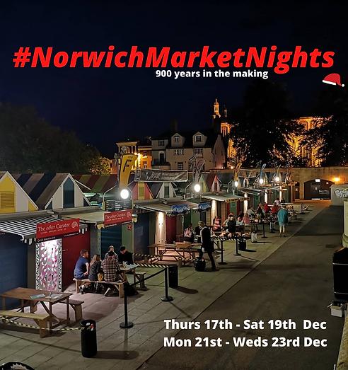 Norwich Market Nights: Seat Bookings