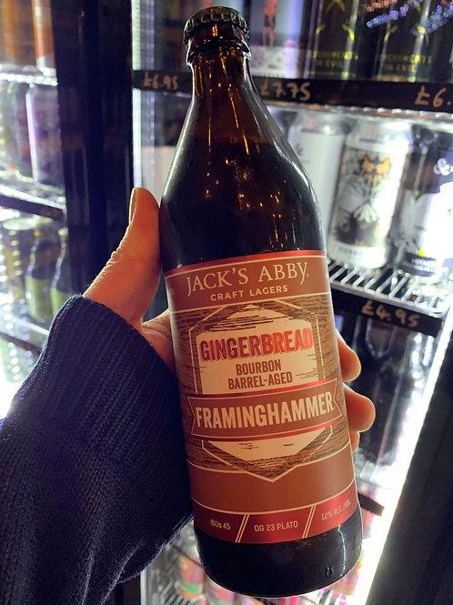 Jack's Abby Gingerbread Bourbon Barrel-Aged 'Framinghammer' 473ml