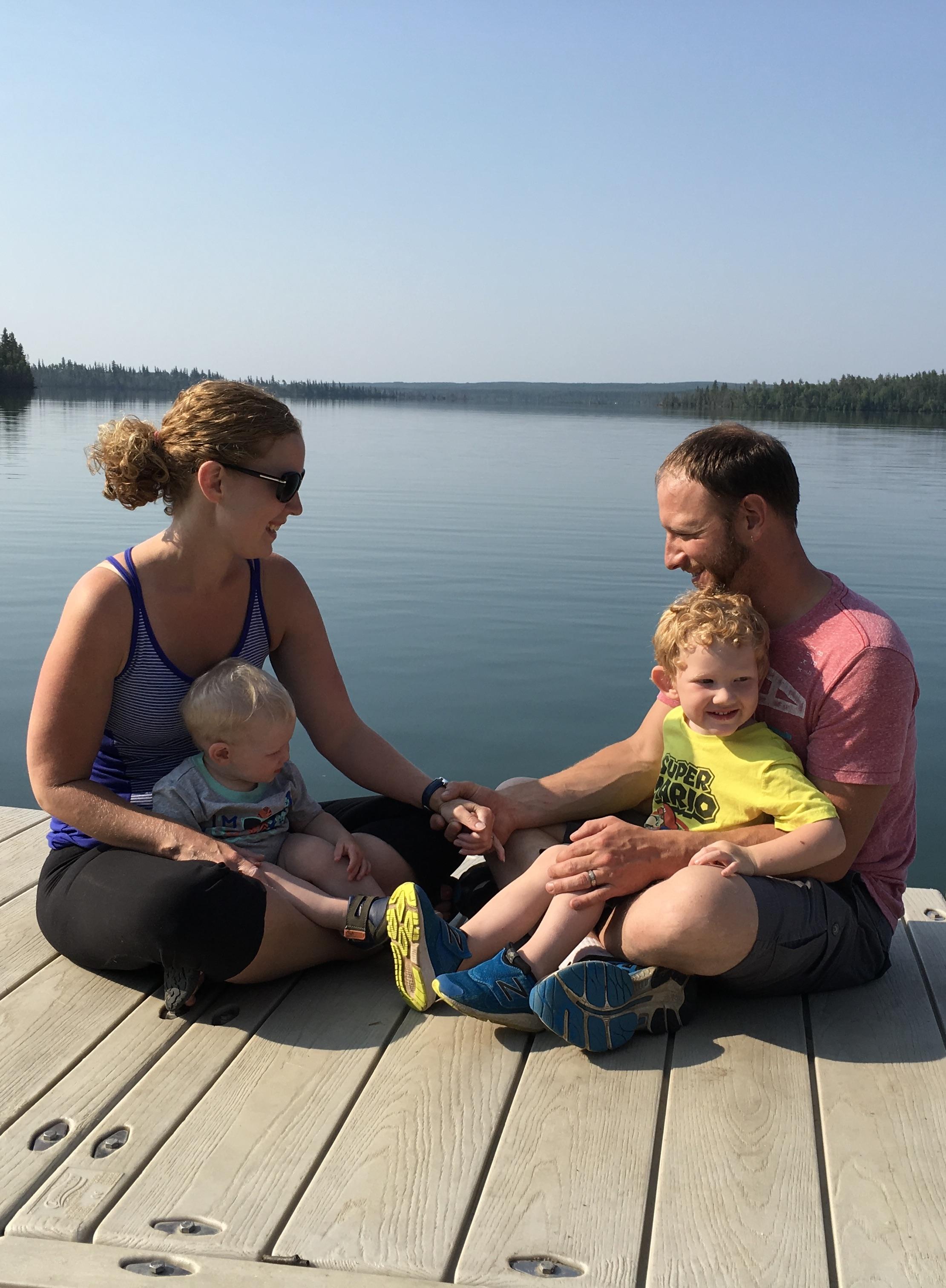 Family Lake Life