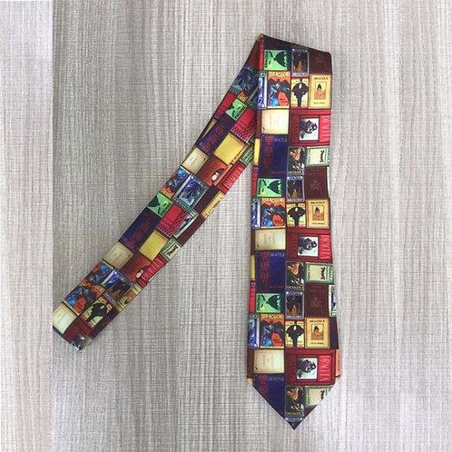Necktie - Vintage Dracula Covers