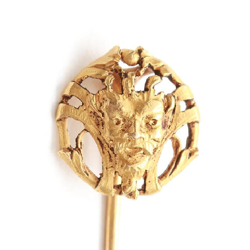 Antique 18 K Gold French Stickpin