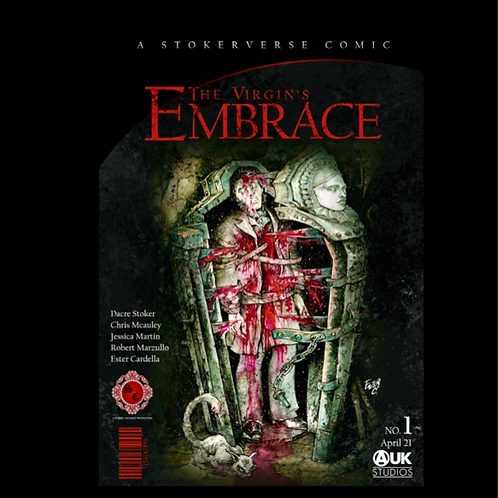 The Virgin's Embrace : A graphic adaptation of Bram Stoker's Story - Hardcover