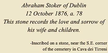Abraham-Stoker-Sr-gravestone-Cava-dei-Ti