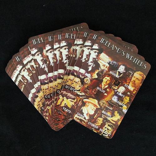Irish Writers Playing Cards