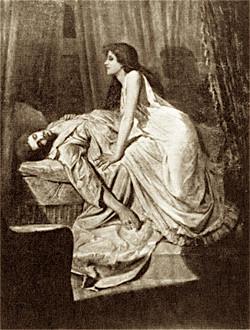 RR-- The Vampire, Burne-Jones