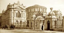 Leinster-House-ca-1890-Bram-Stoker-Dubli