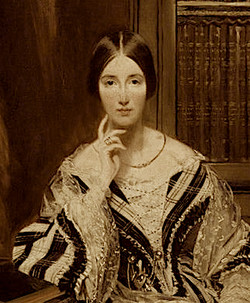 H-- Baroness Burdett-Coutts, detail from