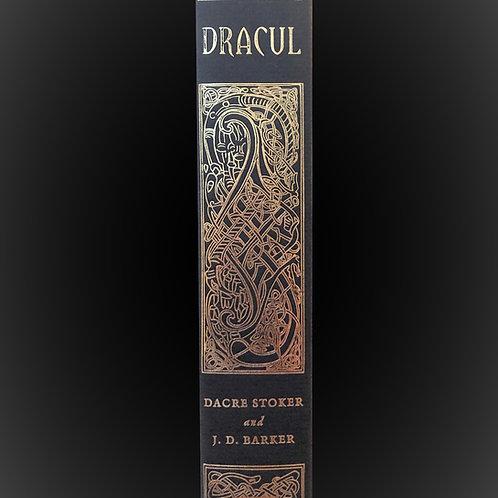 Dracul hardback  artwork created in 1886 by Matilda Stoker