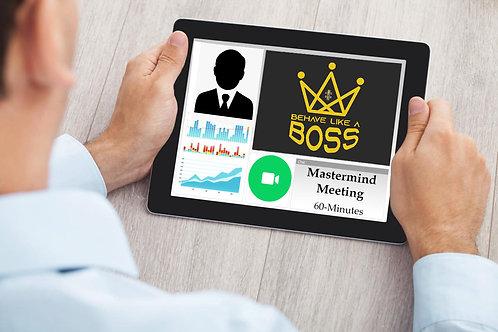 Mastermind Meeting: 60-Minutes