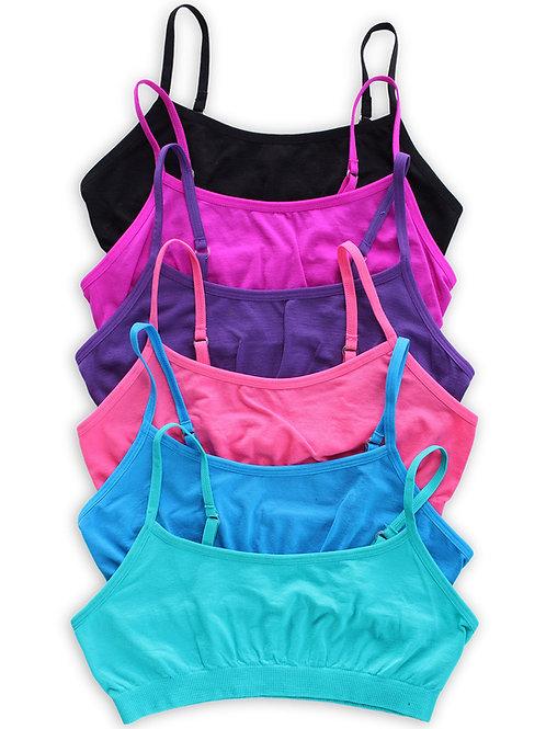 6-Pack Girls Training Bras