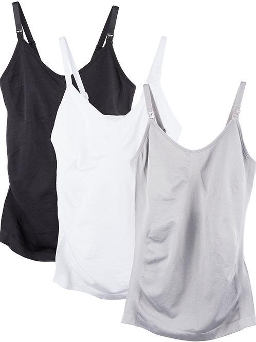 3-Pack Nursing Shaper Camis