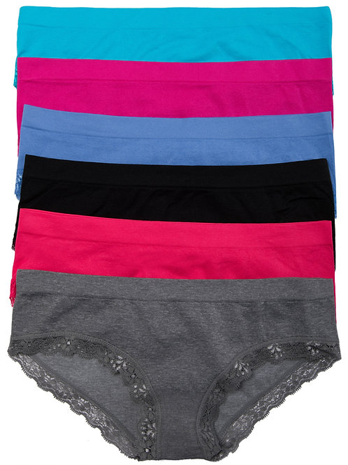 6-Pack Seamless Hipsters