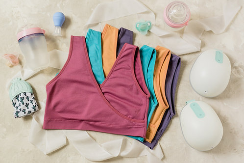4-Pack Nursing Sleep Bra