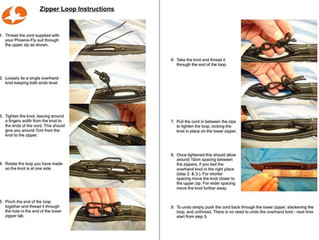 Zipper Loop Instructions