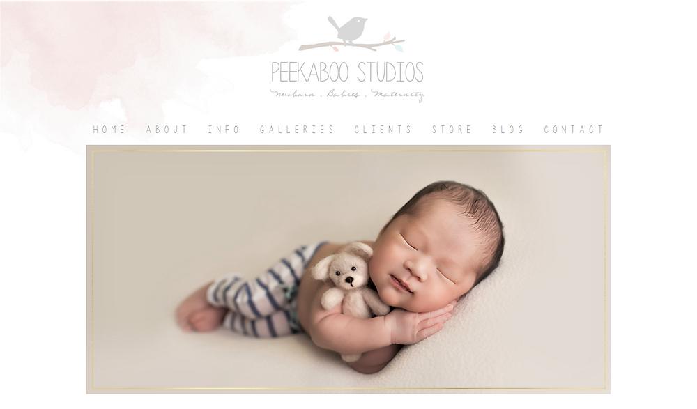 newborn photography canada
