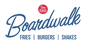 Boardwal Fries Burgers Shakes Logo