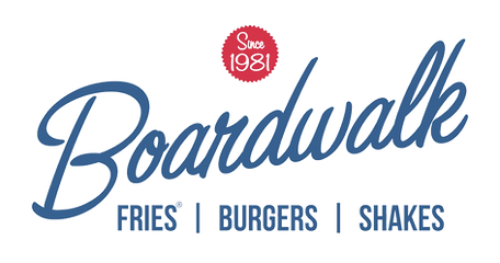 Boardwal Fries Burgers Shakes Logo