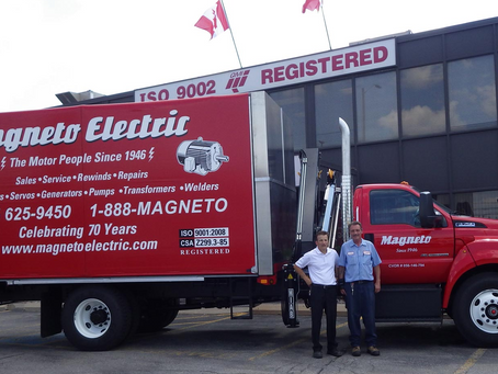 Magneto Celebrates 72 Years in Business!