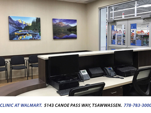 Lark Medical Clinic opens inside the Tsawwassen Walmart