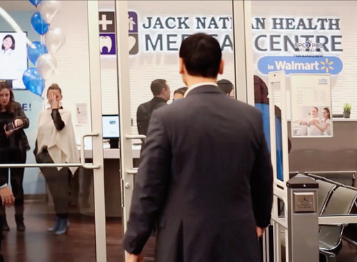 Watch the GRAND OPENING of Jack Nathan Health Medical Centre in Walmart Vaughan Woodbridge