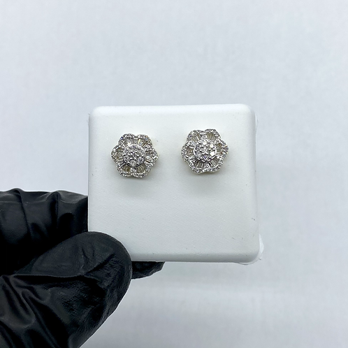 Diamond Earrings 0.52ctw