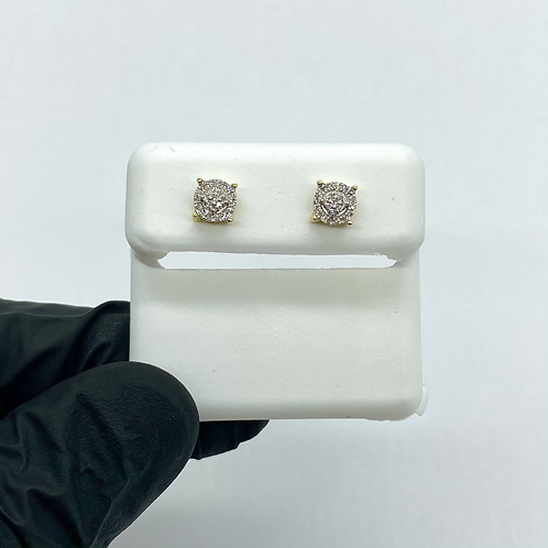 Diamond Earrings 0.10ctw