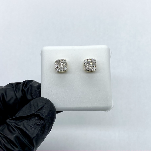 Diamond Earrings 0.52ctw 14KT