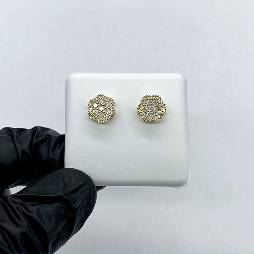 Diamond Earrings 0.53ctw
