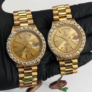 CUSTOM DIAMOND PRESIDENTIAL ROLEXS