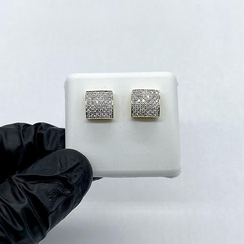 Diamond Earrings 0.55ctw