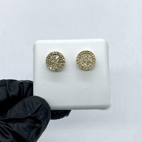 Diamond Earrings 0.80ctw