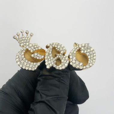 CUSTOM DIAMOND PINKY RING