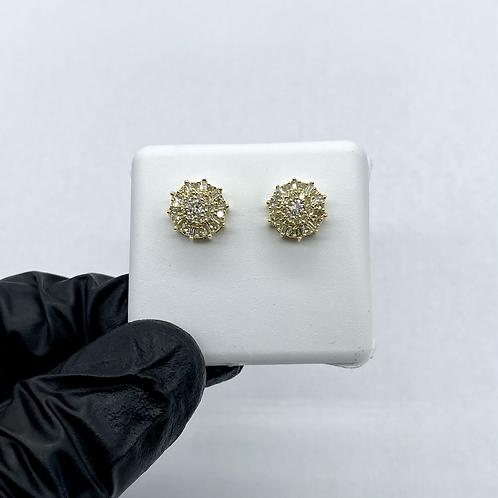 Diamond Earrings 0.52ctw