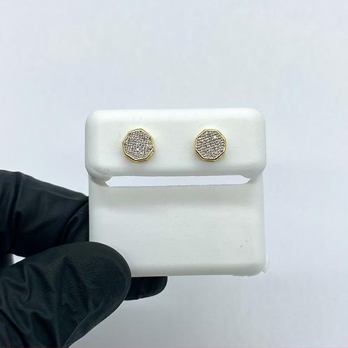 Diamond Earrings 0.07ctw
